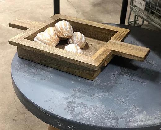 מגש מעץ מנגו קטן
