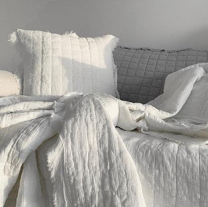 כיסוי מיטה ריבועים