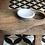 Thumbnail: פלטת הגשה מעוצבת עץ+לבן