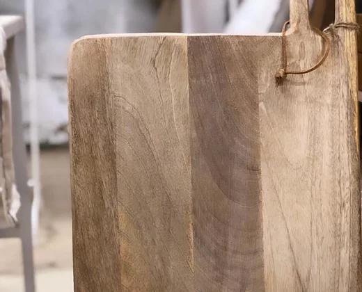 קרש עץ מנגו טבעי גדול ANTIQUE WOOD
