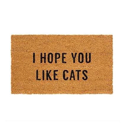 שטיח סף I Hope You Like Cats