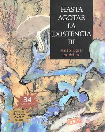 COVER HASTA AGOTAR LA EXISTENCIA III