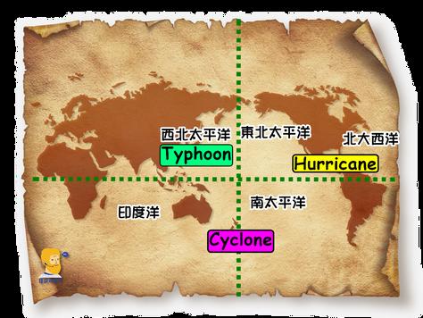 Qpapa實用單字-颱風