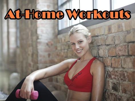 一起在家健身吧!At-Home Workouts