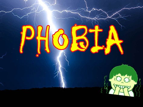 Qpapa實用英文-恐懼症PHOBIAS