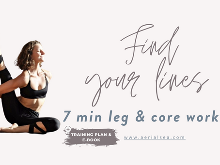 Struggling to keep your knees straight?! Find your lines > E-Book, Training Plan & Workout Video