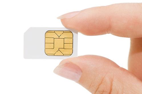 Anonyme Prepaid SIM-Karte D-Netz - Bereits Aktiviert