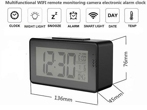 Wlan-Wifi Kamera Wecker / Uhr mit Nachtsicht und Livestream