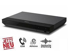 Abhörgerät 4K Ultra HD Blu-ray Player- Weltweit Abhören + Simkarte
