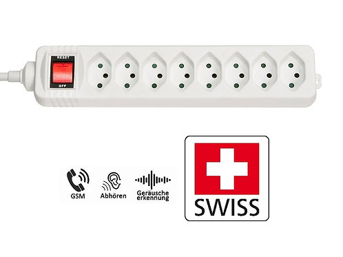 Abhörgerät Steckdosenleiste Schweiz
