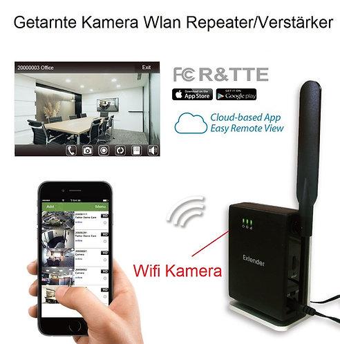 Wifi Repeater Wlan Verstärker Spy HD Kamera mit Nachtsicht funktion