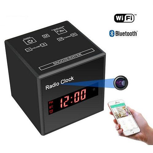 Radio-Bluetooth Spycam Wlan Kamera - Alu Gehäuse