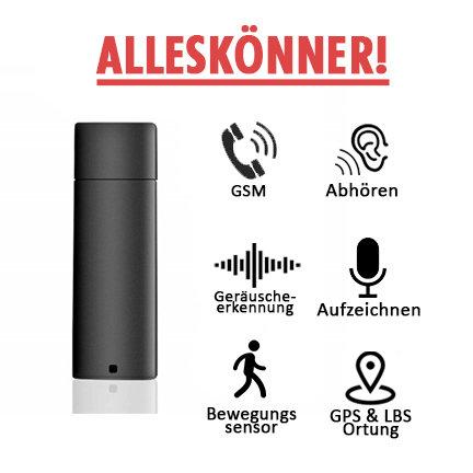 ALLESKÖNNER! Abhörgerät Mini Usb Stick A-Gps Peilsender - Gespräche Aufzeichnen
