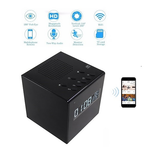 Spion Kamera Uhr mit Bluetooth und Nachtsichtfunktion