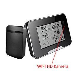 NEU ! Wlan Hd 1080p Kamera getarnt als Wetterstation - Live Bild auf dem Handy