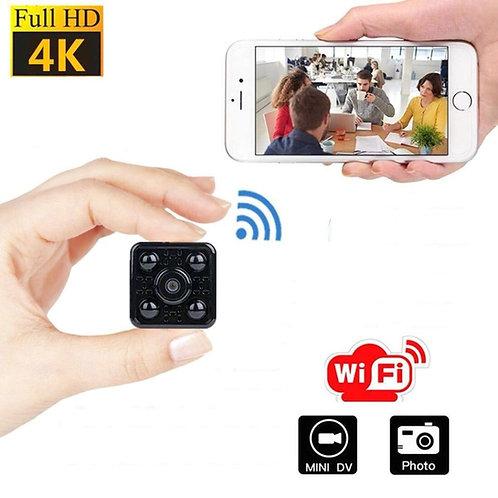 Wlan Spion Pocket / Mini Kamera - Nachtsicht -Bild und Ton Aufnahme