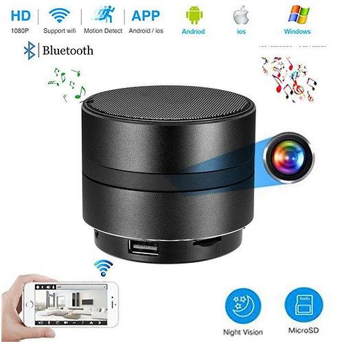Bluetooth Lautsprecher 4K Wlan Spy Kamera mit Nachtsicht