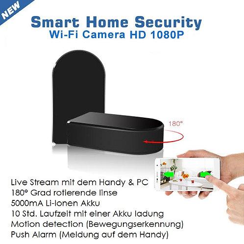 Getarnte Wlan Kamera mit 180° Rotierende Linse Steuerbar mit dem Handy