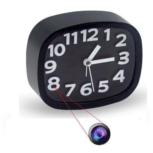 Spion Kamera getarnt als Wecker - Live Stream mit dem Handy