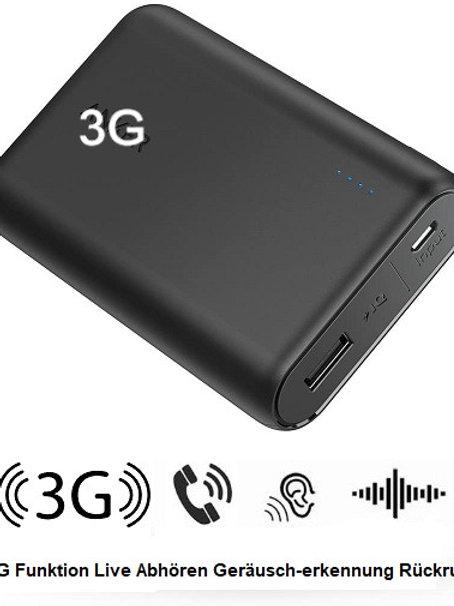 3G Langzeitabhörgerät Powercore Pro 10000 mAh Akku - Gps Funktion