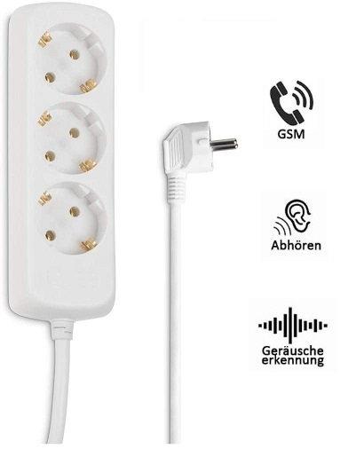 GSM Abhörgerät getarnt als Mehrfachstecker