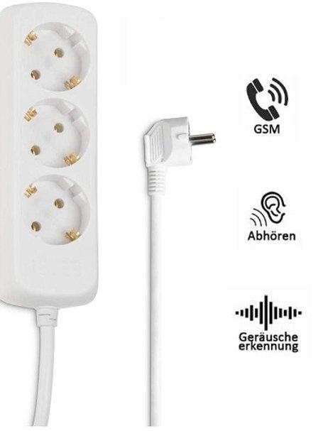 GSM Abhörgeräte Gsm Wanzen getarnt als Steckdose