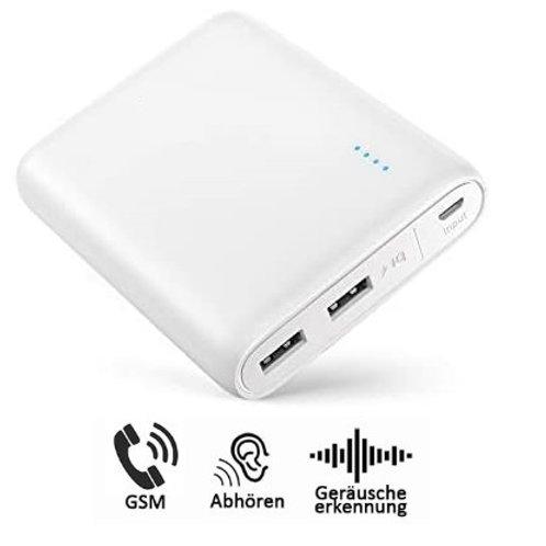 Ultra Langzeit GPS Peilsender Powercore 13000mAh Akku - Abhörfunktion