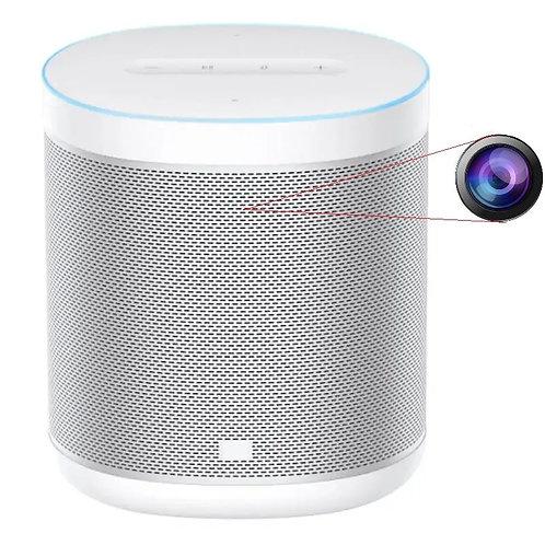 Spionage Wlan Kamera Smart Speaker Bluetooth, Google Assistant, Linse getarnt