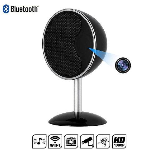 Spy Cam Bluetooth Mini Stand Lautsprecher mit getarnte Wlan Kamera Nachtsicht