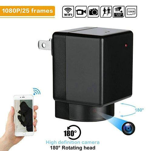 Steckdosen Wlan HD Kamera 180° schwenkbarem Objektiv