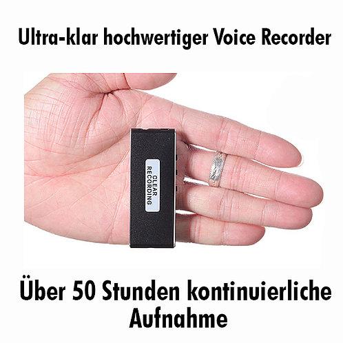 Ultra Clear Audio Aufnahme mit mini Voice Recorder