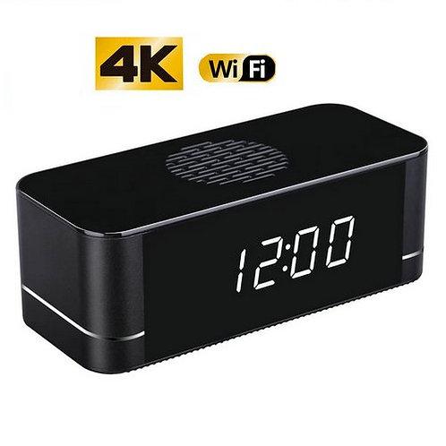 Mini Uhr 4K Überwachungskamera  - Nur 11.5 x5x4 cm