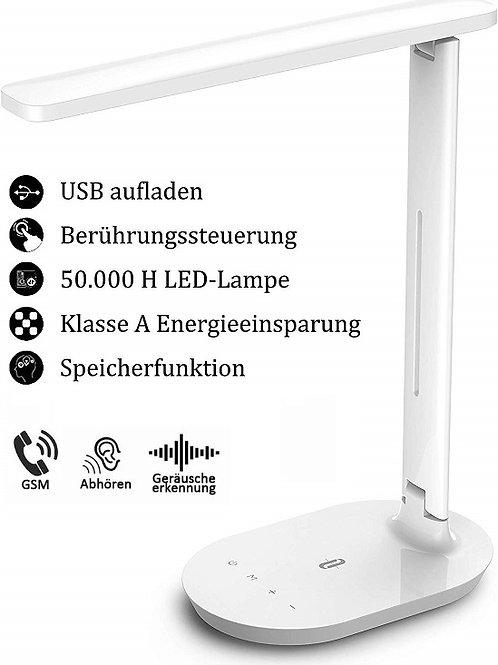 Abhörgerät getarnt als LED Tischlampe - Weltweit Abhören