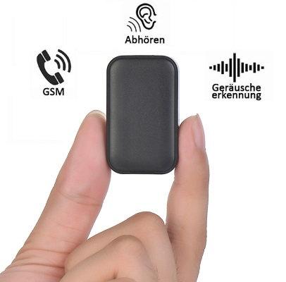 Micro Gsm Abhörgerät - Geräusch und Bewegungserkennung - Live Abhören