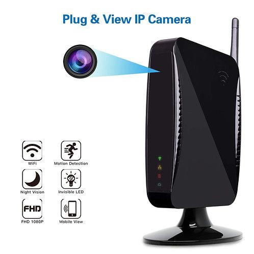 Spion Kamera Wlan Router mit Nachtsicht Option bis 12m