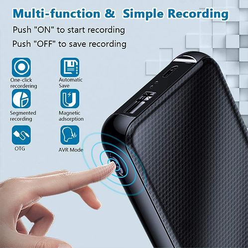 Ultra Power Voice Recorder - Bis zu 45 Tage Aufnahme möglich