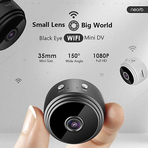 Mini Wlan Kamera mit Nachtsicht / App für Handy / Live Stream