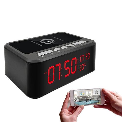 HD Überwachungskamera mit Handyladestation/Bluetooth und Nachtsicht