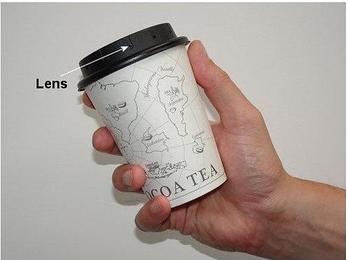 HD Spion-Kamera in Kaffeebecher