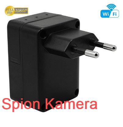Wlan Spion Kamera getarnt als Ladegerät - Linse absolut nicht sichtbar