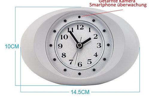 Getarnte Kamera im Uhr mit Nachtsicht Funktion (WiFi Version - Online Live Strea