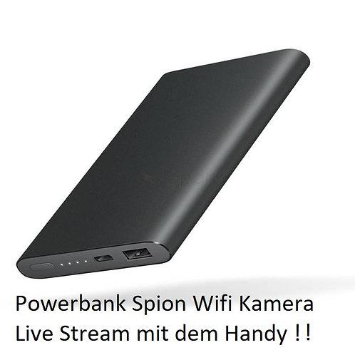 WLAN Powerbank getarnte Spy Kamera mit Bewegungsmelder Handy überwachung