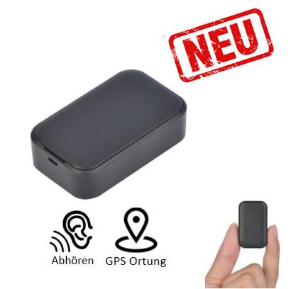 Professionelles Abhörgerät aus der Nano Serie mit Gps Sender