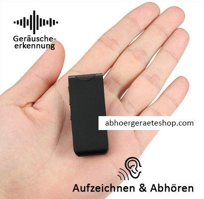 Digitaler Voice Recorder - Gespräche Automatisch bis zu 30 Std. lang aufzeichnen