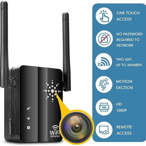 Spion Wlan Kamera getarnt als Wifi Verstärker