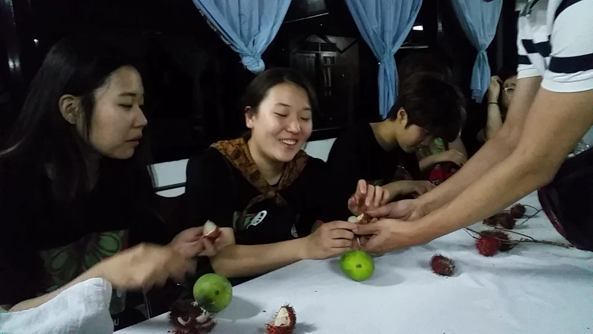 First time tasting Rambutan!