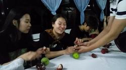 First time tasting Rambutan!