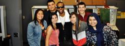 MARIO with Delta students!