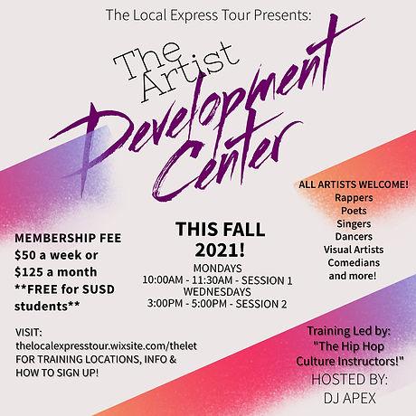 The Artist Development Center - Made wit