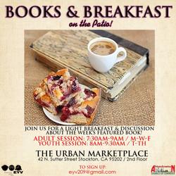 EYV Books & Breakfast!